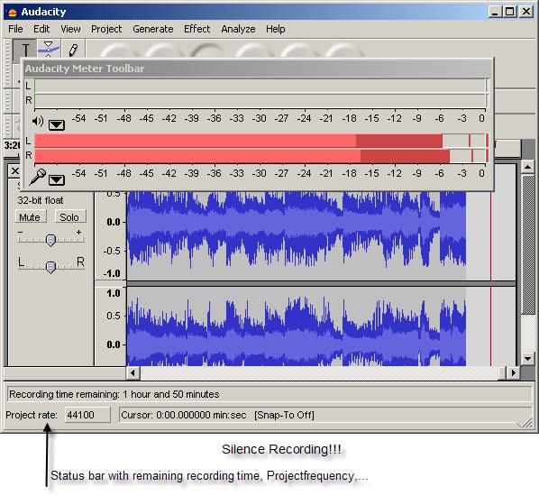 Silence Recording!!!