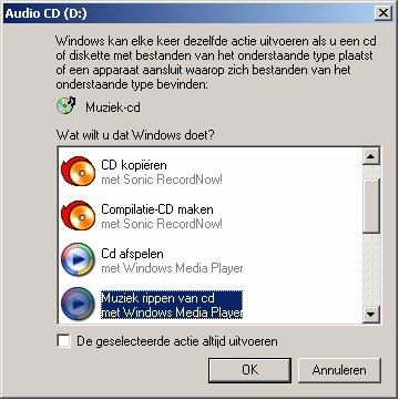 Audio Cd popup