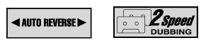 Cassettedeck Functies