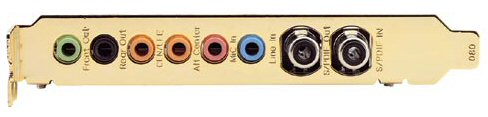 Sound card with S/PDIF coaxial