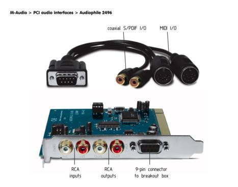M-Audio Audiophile 24/96
